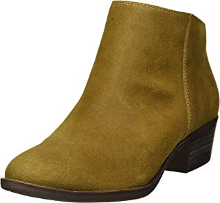 Lucky Brand Women's Bremma Ankle Boot, Tapenade, 8 M US