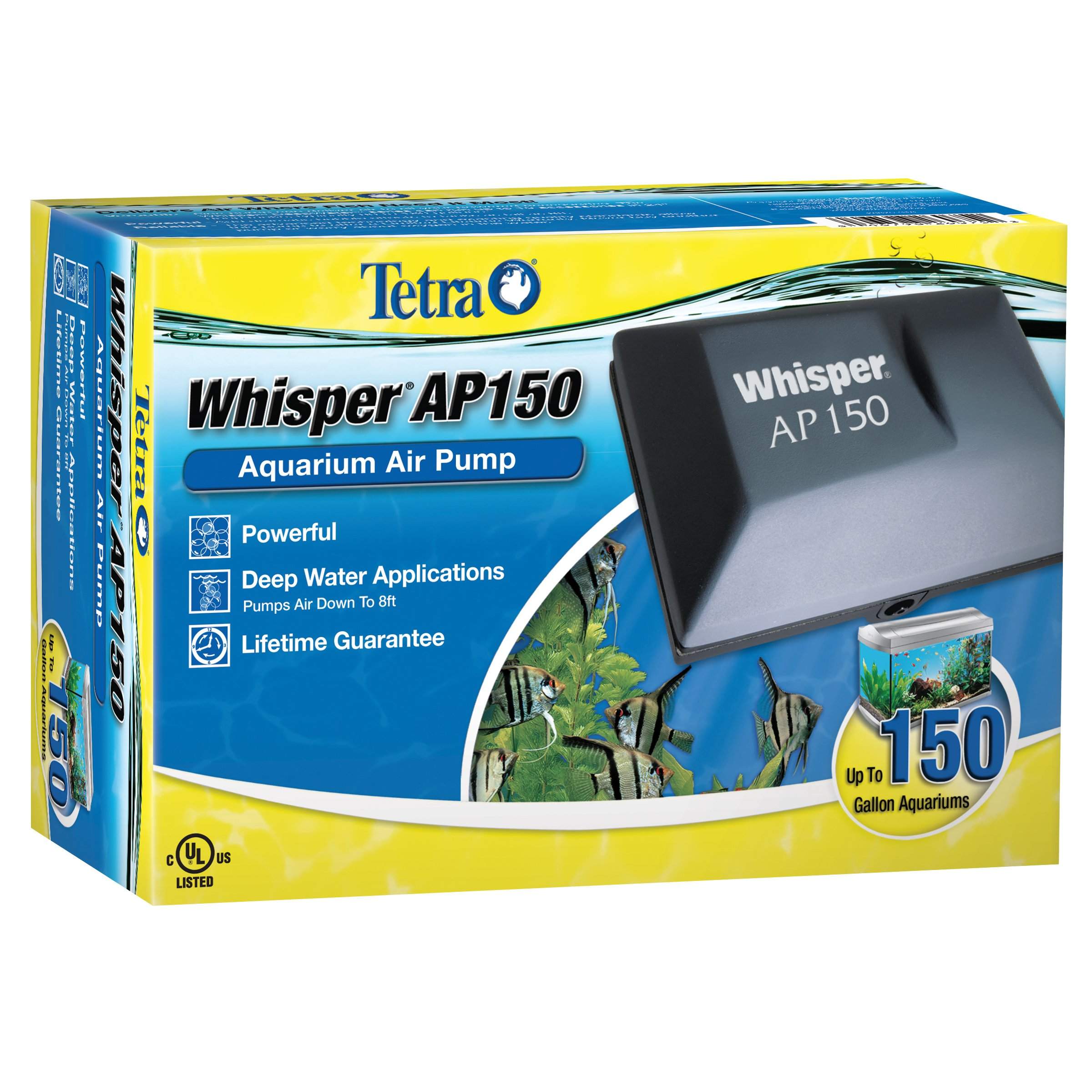 Tetra Whisper AP150 Aquarium Applications
