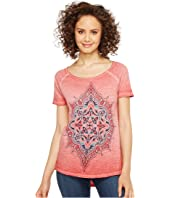 Lucky Brand - Geo Floral Tee
