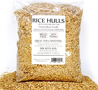 Best rice hulls for gardening Reviews