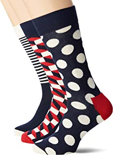 Happy Socks Holiday Big Dot Gift Box Calcetines (Pack de 4) para Hombre