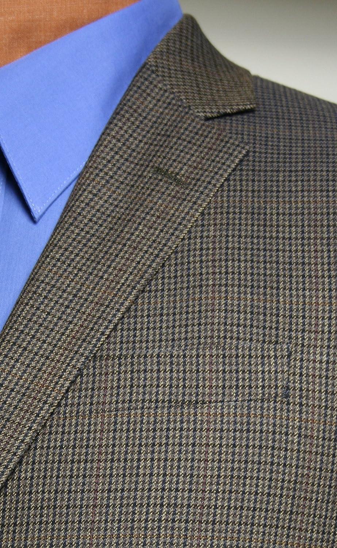 CEZAR DEL PRADO - Taupe Houndstooth Sport Coat - 1564 Houndstooth