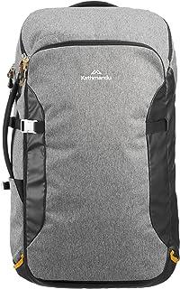 Kathmandu Litehaul 38L Carry-On Cabin Sized Travel Pack Shoulder Bag Backpack Med Grey 38LTR