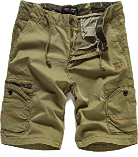 Eaglide Mens Casual Cargo Shorts, Mens Slim Fit Athletic Biking Casual Chino Shorts