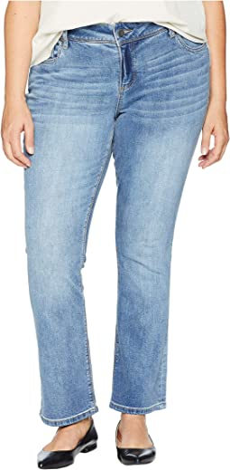 Plus Size Greta Ankle Bootcut Jeans in Launched