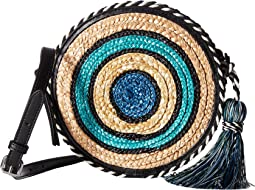 Rebecca Minkoff - Straw Circle Crossbody
