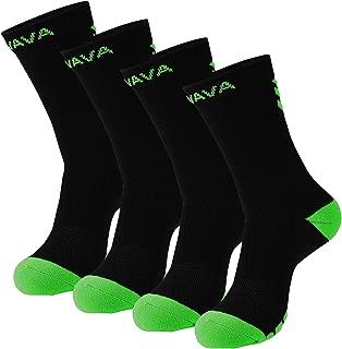 Dri-tech Compression Crew Socks 15-20mmHg (2/3 Pairs) Athletic Running Cushion Sock