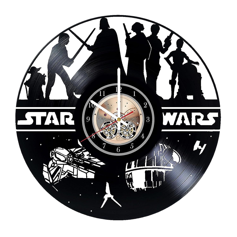 Skywalker Saga Vinyl Record Wall Star favorite At the price of surprise Wars Fami Clock
