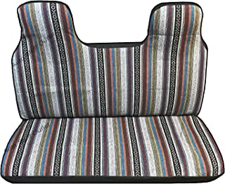 Brand New Universal Baja Inca Saddle Mexican Blanket Mini Truck Seat Cover