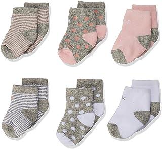 Calvin Klein RCK261 Calcetines para Bebé-Niñas, color Multicolor, 6-12 Meses