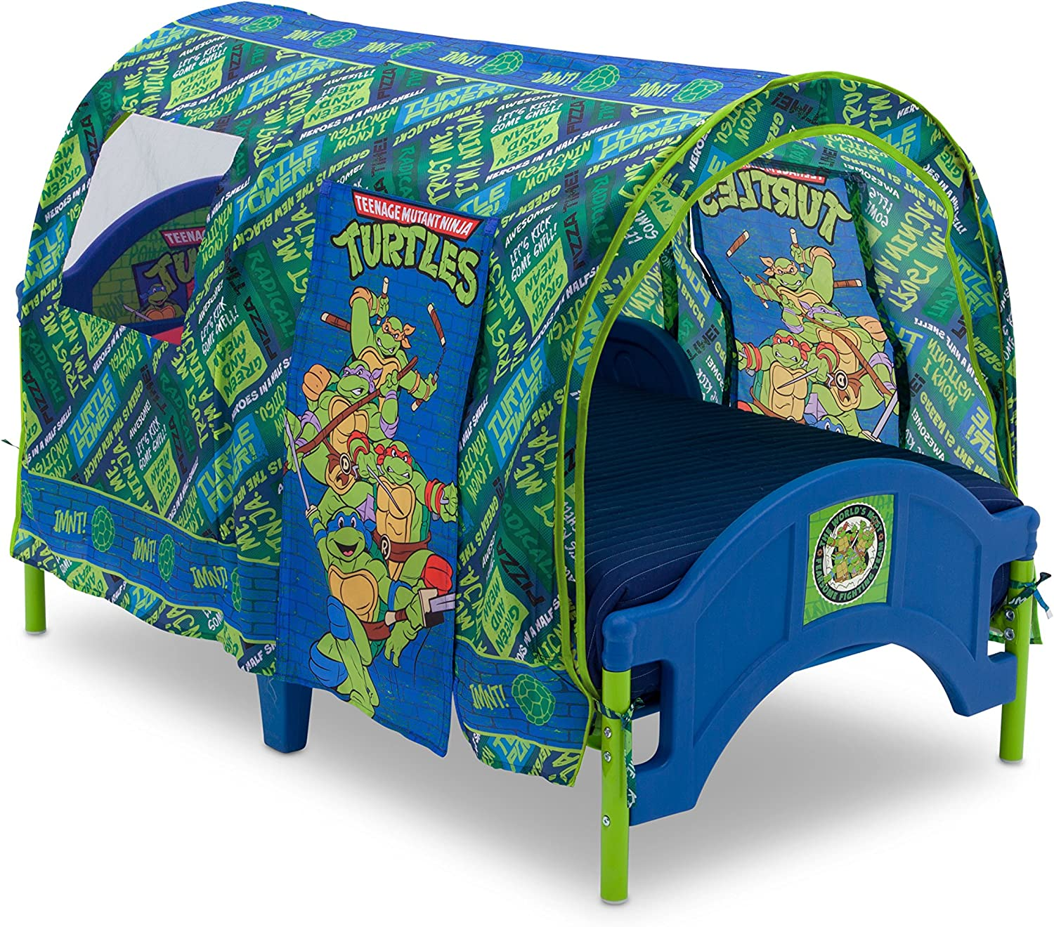 Nickelodeon Teenage Mutant Ninja Turtles Toddler Tent Bed, Multicolor