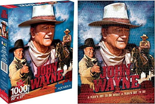 Aquarius John Wayne Film 1000 ile Puzzle