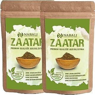 NABALI FAIRKOST productos de calidad Zatar Za'atar de Palestina 100g I original según Ottolenghi I 100% natural aromático ...