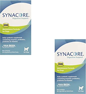 Van Beek Synacore Digestive Support for Dogs, 30-Pack (2 Pack)