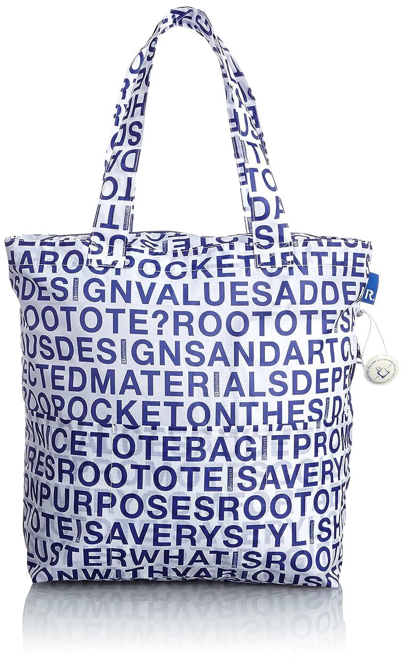 ブリーフケース背景八百屋[ルートート] ROOTOTE トートバッグ型エコバッグ フリンク アルファベットスープ 0266