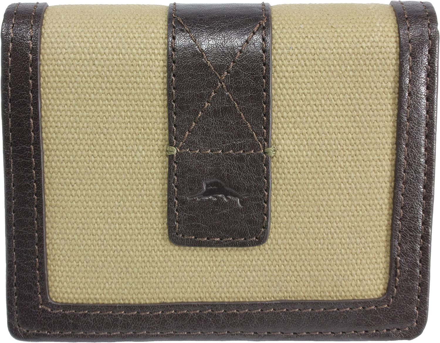 Tommy Bahama Sand & Surf L-Fold Wallet One Size Khaki/Brown