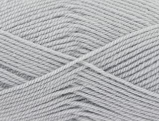 King Cole Big Value Baby DK Knitting Yarn 100g Silver 1711