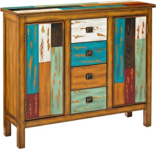 Christopher Knight Home Distressed Wood Cabinet, Home Storage Shelves and Organizer Drawers