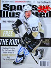 Sidney Crosby PITTSBURGH PENGUINS autographed Sports Illustrated magazine 9/30/13