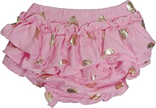 ES Kids Bloomers Pink with gold dots, Pink