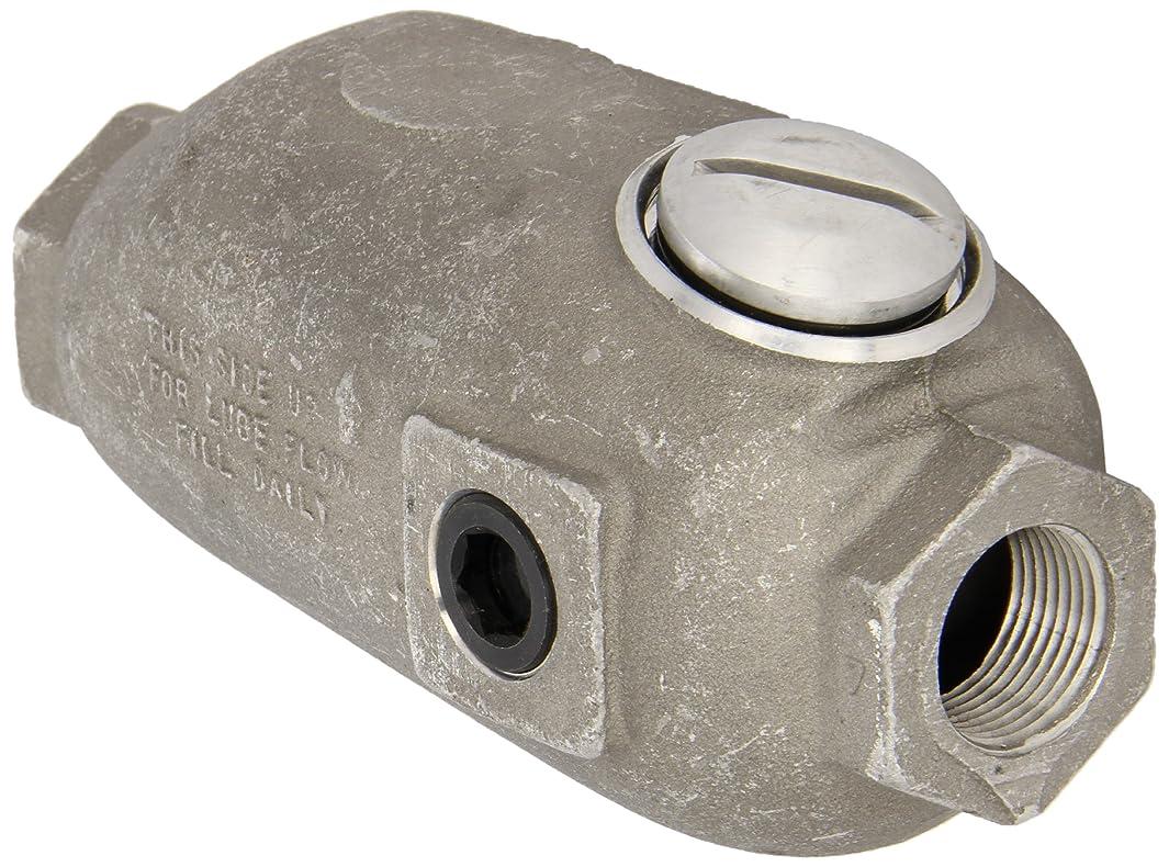 Dixon PL400 Aluminum Air Fitting, In-Line Lubricator, 3/4