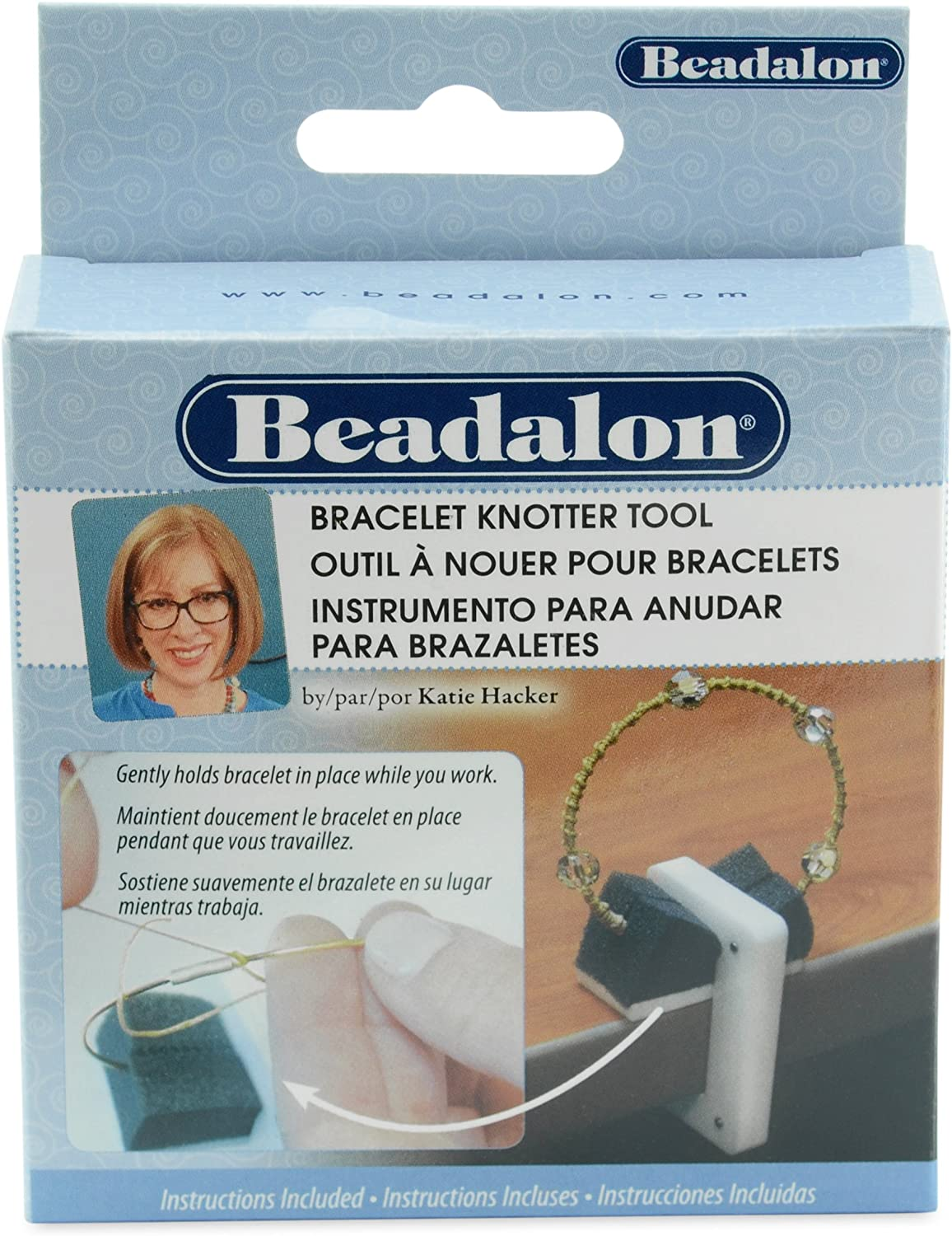 Beadalon Katie Hacker Max Don't miss the campaign 49% OFF Knotter Bracelet Tool