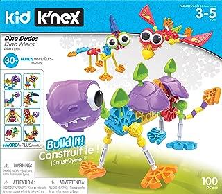 Kid K'NEX Dino Dudes Building Set - Ages 3+ - Preschool Creative Toy