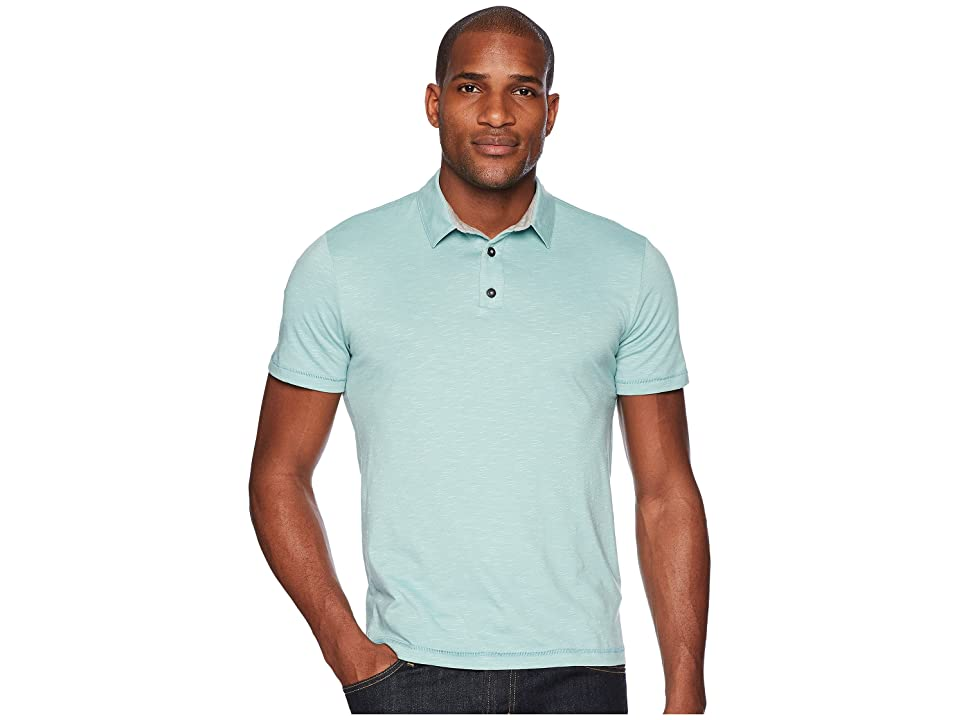 Toad&Co Tempo Short Sleeve Slim Polo (Aquifer) Men