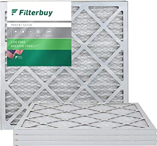 Best FilterBuy 20x20x1, Pleated HVAC AC Furnace Air Filter, MERV 8, AFB Silver, 4-Pack Reviews