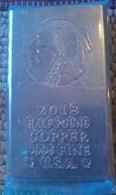 Half Pound (.5lb) Copper Bullion Ignot Bar @ Great Price