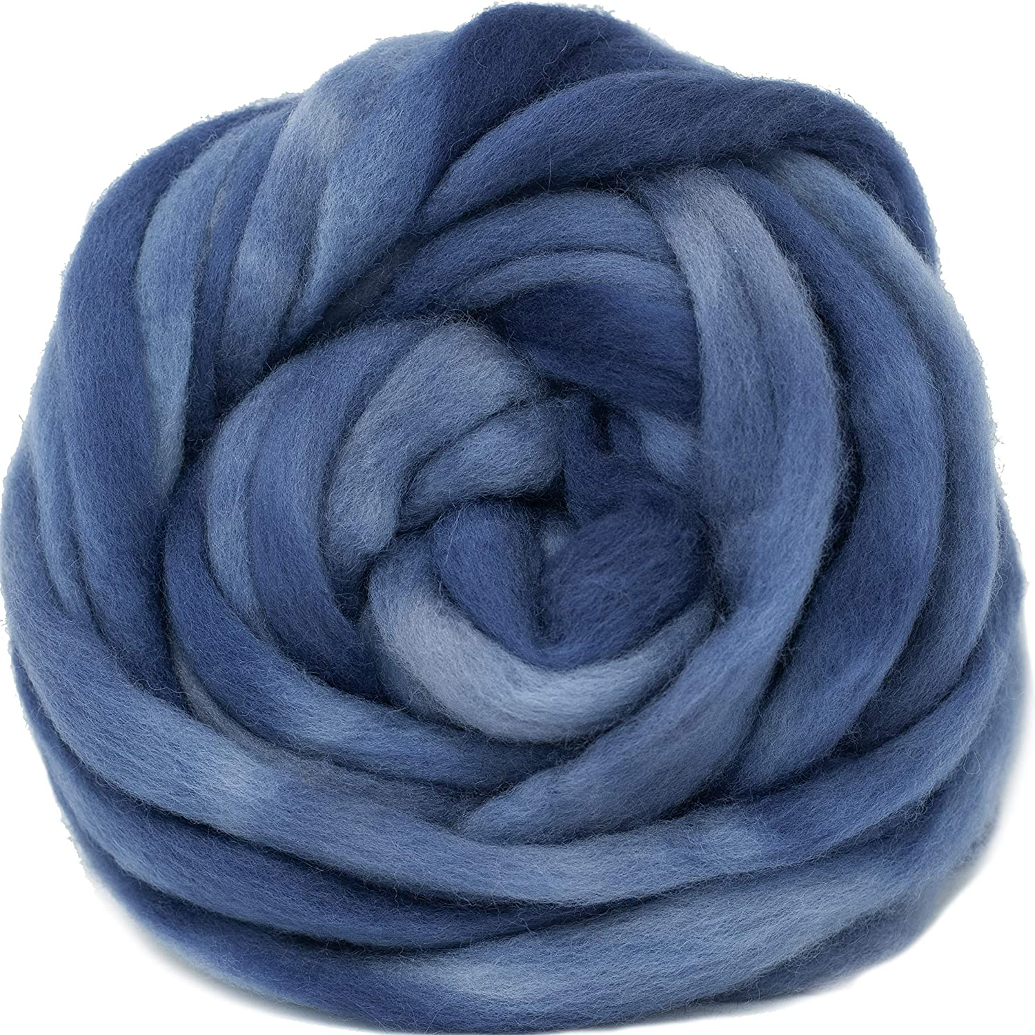 Wool Roving Hand Dyed. Super Soft specialty shop Pre-Drafted for Combed BFL Top Mesa Mall