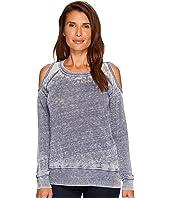 Sweater Cold Shoulder Top