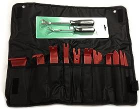 13 Pc Steel and Nylon Auto Trim Door Panel Window Molding Upholstery Clip Removal Tool Kit Prylon
