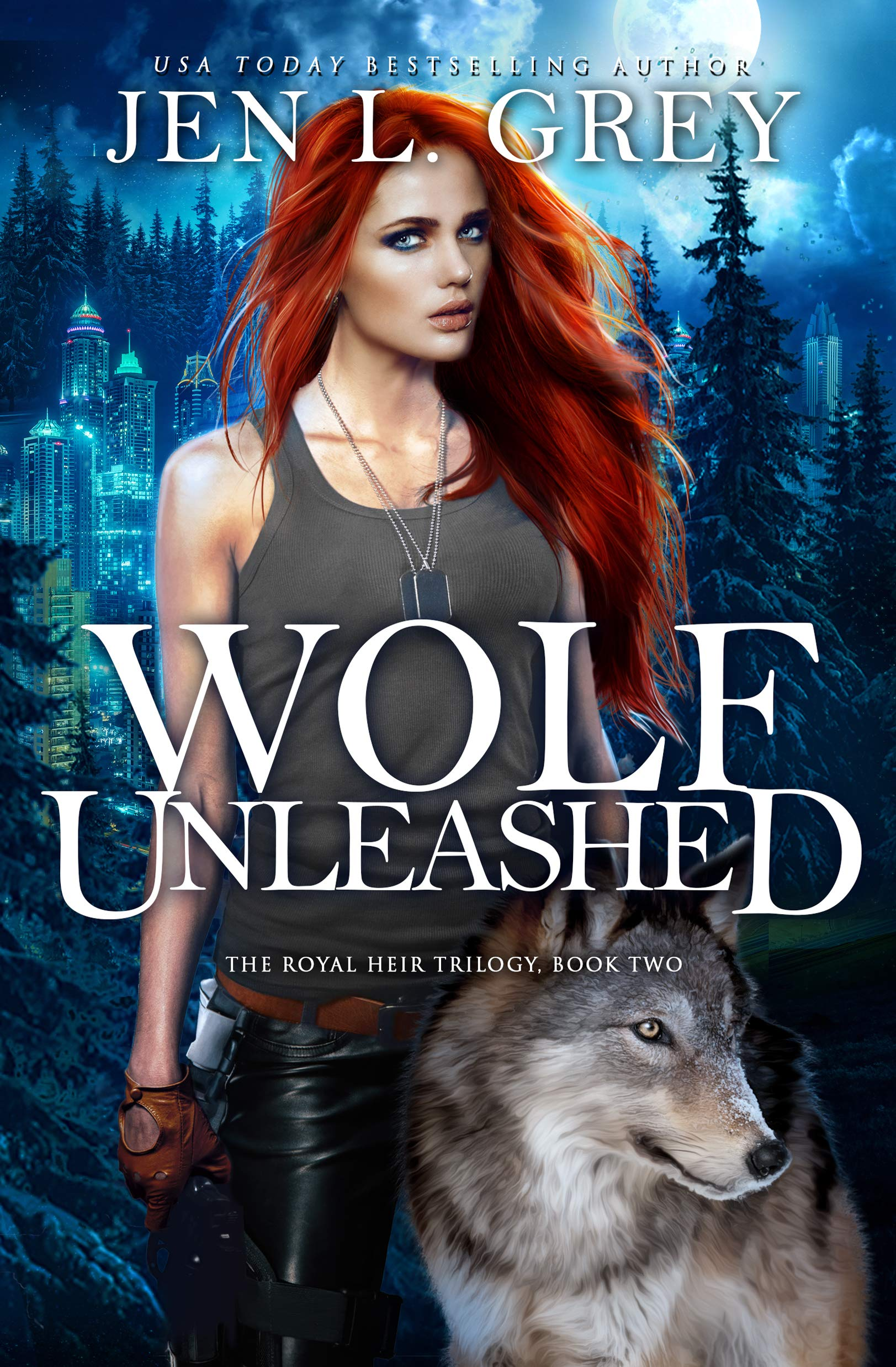 Wolf Unleashed (The Royal Heir Book 2)