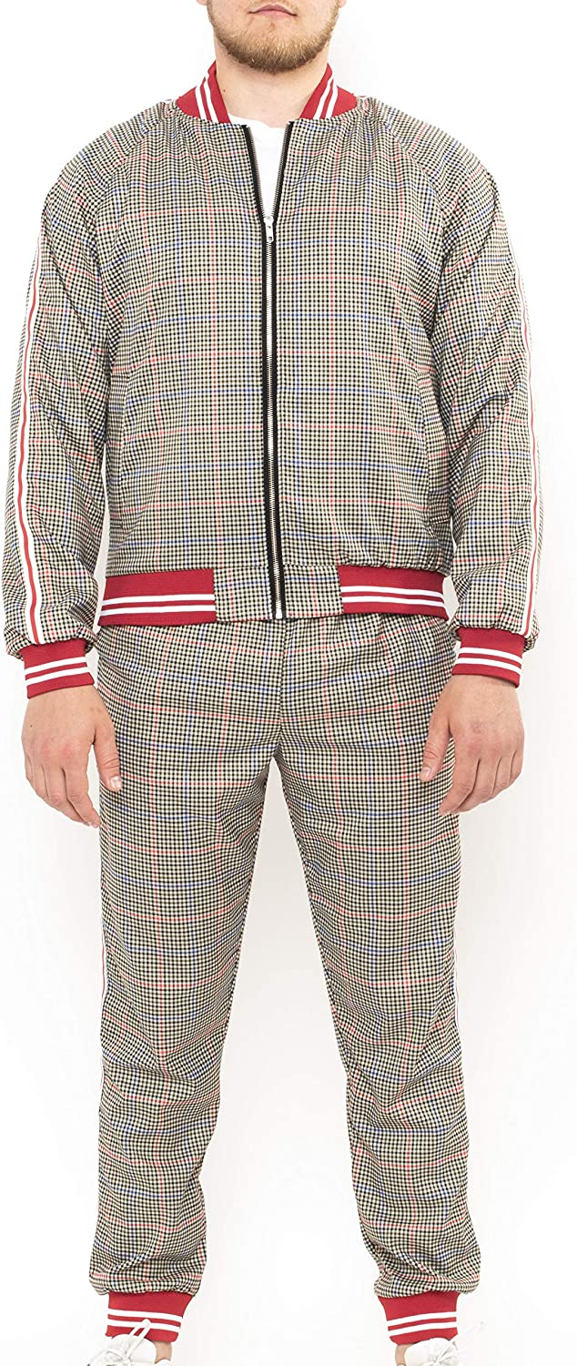 The Sewing Brother's Tracksuit 67% Free shipping OFF of fixed price Gentlemen Tartan Mens