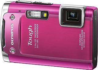 OLYMPUS 防水デジタルカメラ TOUGH TG-615 ピンク 5m防水 1.5m対落下衝撃 -10度耐低温 1400万画素 3Dフォト機能 Eye-Fiカード対応 TG-615 PNK