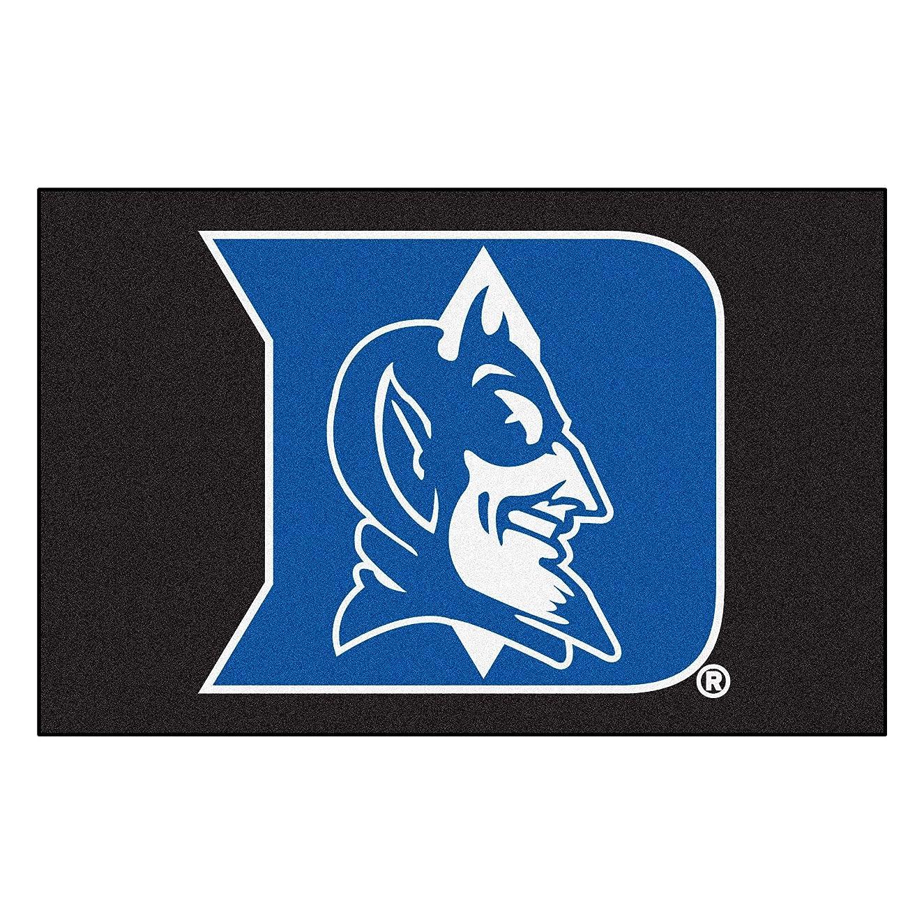 FANMATS NCAA Duke University Blue Devils Nylon Face Starter Rug