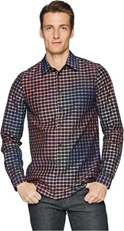 Tricolor Gingham Shirt