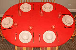 Best oval fitted table cover Reviews