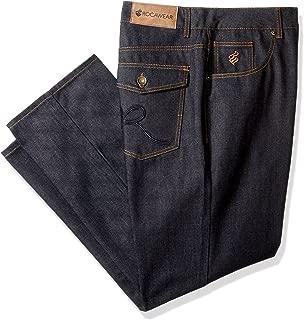 Rocawear Men's Big and Tall R Script Flap Jean