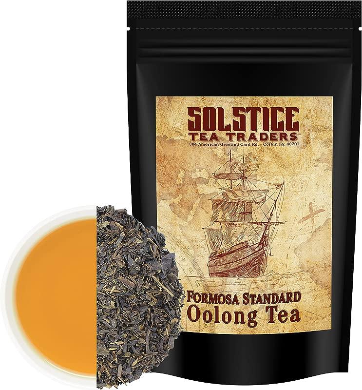 Pure Oolong Loose Leaf Tea 16 Ounces Bulk Tea Formosa Standard Taiwan Oolong Tea 175 Cups Per Bag 1 Lb