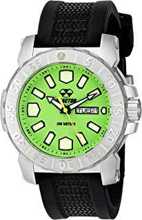 REACTOR Men's 76809 Meltdown 2 Analog Display Japanese Quartz Black Watch