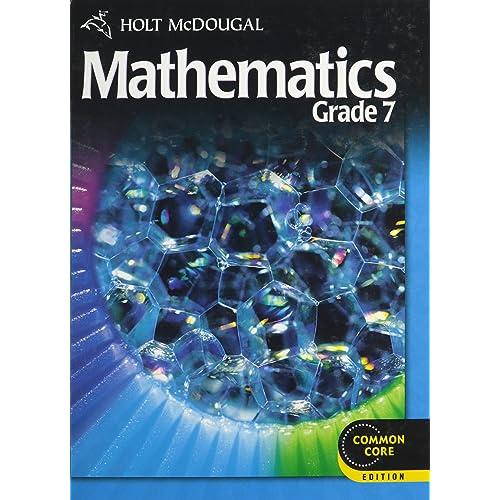 Holt McDougal Mathematics Student Edition Grade 7 2012