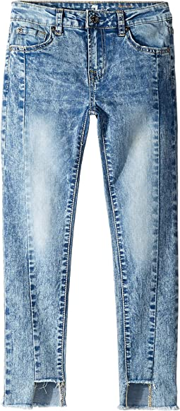 Skinny Stretch Denim Jeans in Authentic Sonar (Big Kids)