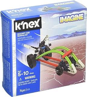 K'NEX - Rocket Car Building Set  74 Pieces  For Ages 5+ Construction Education Toy