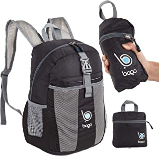 bago 25L Packable Lightweight Backpack - Water Resistant Travel and Hiking Daypack