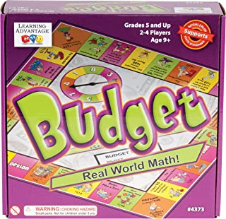 Learning Advantage Budget - Budgeting Game for Kids - Teach Money, Math and Critical Thinking
