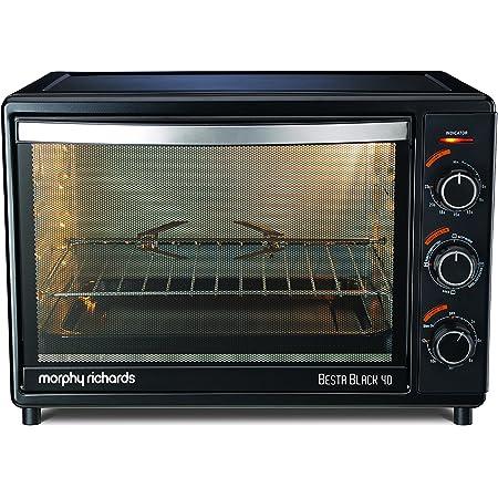 Morphy Richards Besta 40L Oven Toaster Grill, Black