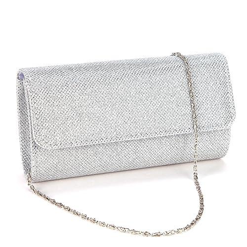 ee5730c869e8 Anladia Ladies Evening Party Small Clutch Bag Bridal Purse Handbag Shoulder  Bag