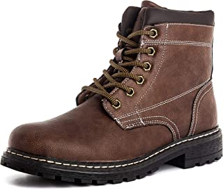 Men's Zipper Premium Water Resistant Rugged Outsole Construction Performance Soft Toe Work Boots